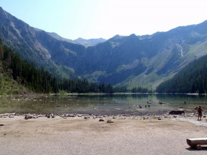 Avalanche Lake at Glacier National Park